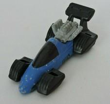 Hot Wheels Mattel Vintage Toy Car Diecast Blue Black 1993 Race Car KH - $4.51
