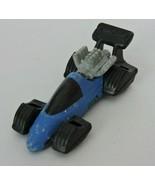 Hot Wheels Mattel Vintage Toy Car Diecast Blue Black 1993 Race Car KH  - $5.00