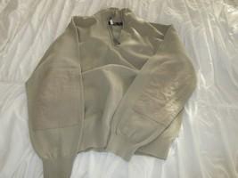 Nautica Mens Long Sleeve Zipper Collar Heavy Shirt Pull Over , XL , 100%... - $44.55