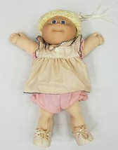 Cabbage Patch doll Xavier Roberts 1985 Doll Blonde Girl , Blue Eyes vintage rare - $37.40
