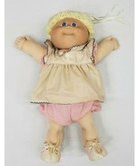 Cabbage Patch doll Xavier Roberts 1985 Doll Blonde Girl , Blue Eyes vint... - $37.40