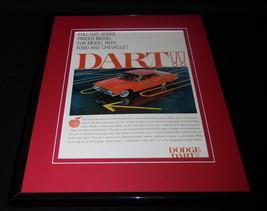 1961 Dodge Dart Framed 11x14 ORIGINAL Vintage Advertisement - $41.71