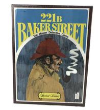 221b Baker Street Sherlock Holmes Master Detective Board Game Bookshelf ... - $46.78