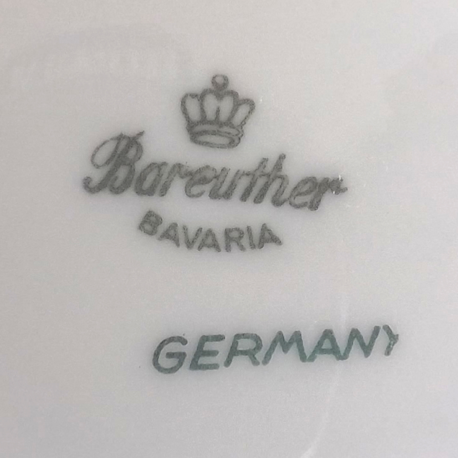 "Bareuther Waldsassen 7"" Salad/Lunch Plate Bavaria Pattern Fine China (Germany)"