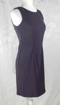 NWT AB Studio Dress Size 2 Purple Sheath Sleeveless Stretch - $15.83