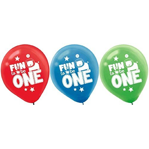 "Primary image for One Wild Boy Cute Kids 1st Birthday Party Decoration 12"" Round Latex Balloons"