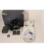 Canon PowerShot G7 10MP Digital Camera 2 Batteries SD Card in Box - Working - $56.09
