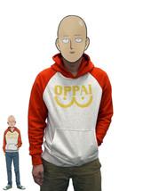 One Punch Man Hero Saitama Oppai Logo Cosplay Costume Hoodie Jacket Swea... - $18.99