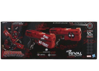 ... Nerf Rival Deadpool Kronos XVIII-500 Dual Pack LIMITED EDITION GAMESTOP  EXCLUSIV ...
