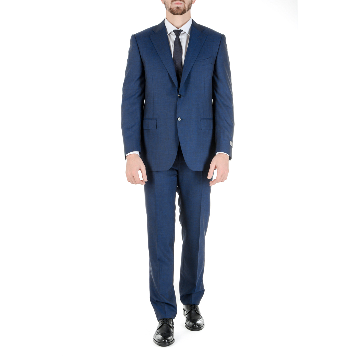 Primary image for Canali Mens Suit Long Sleeves Blue