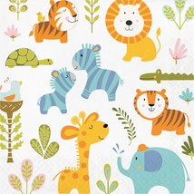 Happi Jungle Luncheon Napkin/Case of 192 - £44.95 GBP