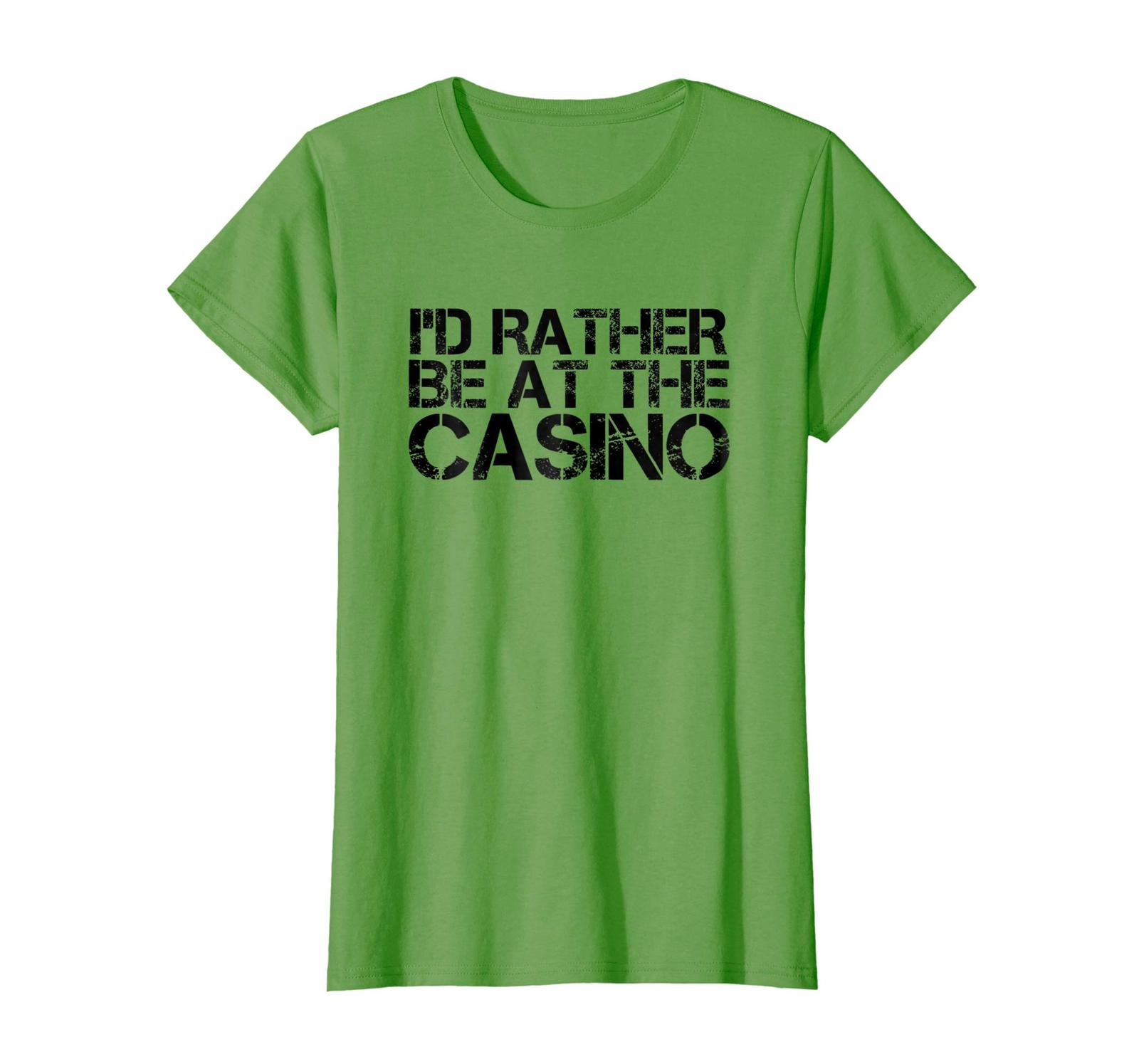 Brother Shirts - I'D RATHER BE AT THE CASINO Shirt Funny Vegas Gift Idea Wowen