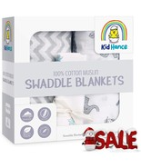 Baby Swaddle Blankets - Large Baby Swaddle Blanket for Newborns - Soft C... - $16.82