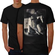 Bass Guitar Photo Music Shirt Music Instrument Men T-shirt Back - $12.99+