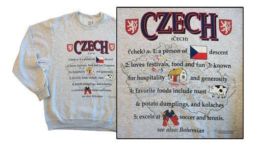 Czech republic national definition sweatshirt 10261