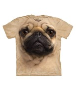 PUG FACE CHILD T-SHIRT THE MOUNTAIN - $13.78