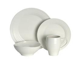 Mikasa Swirl 4 Piece Dish Set White - $55.06