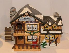 Dept 56 Snow Village - Smokey Mountain Retreat - #54872 - Working - EUC - $37.95