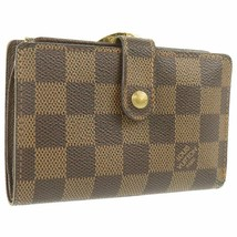 Louis Vuitton Wallet Damier Portofeuil Viennois N61674 Used Excellent Fr... - $556.71