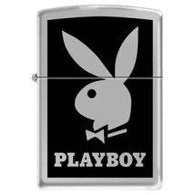 Zippo PLAYBOY Black Background Windproof Lifetime Guarantee Made in USA ... - $29.99