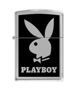 Zippo PLAYBOY Black Background Windproof Lifetime Guarantee Made in USA ... - $29.99
