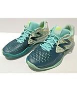 NEW BALANCE 996 Womens 10.5 B Tennis Shoes Blue White Sneakers - $33.73
