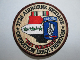 173RD AIRBORNE BRIGADE OPERATION IRAQI FREEDOM US ARMY 173RD AIRNORNE PA... - $7.00