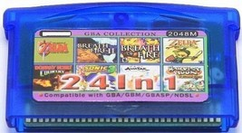 24 in 1 (a) Zelda, Donkey, Sonic + more - Game Boy advance Video Game GBA - $20.75
