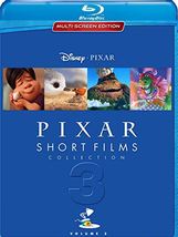 Pixar Short Films Collection, Vol. 3 (Blu-ray/DVD, 2018)