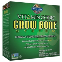 Garden of Life Raw Calcium Supplement - Vitamin Code Grow Bone System St... - $178.08