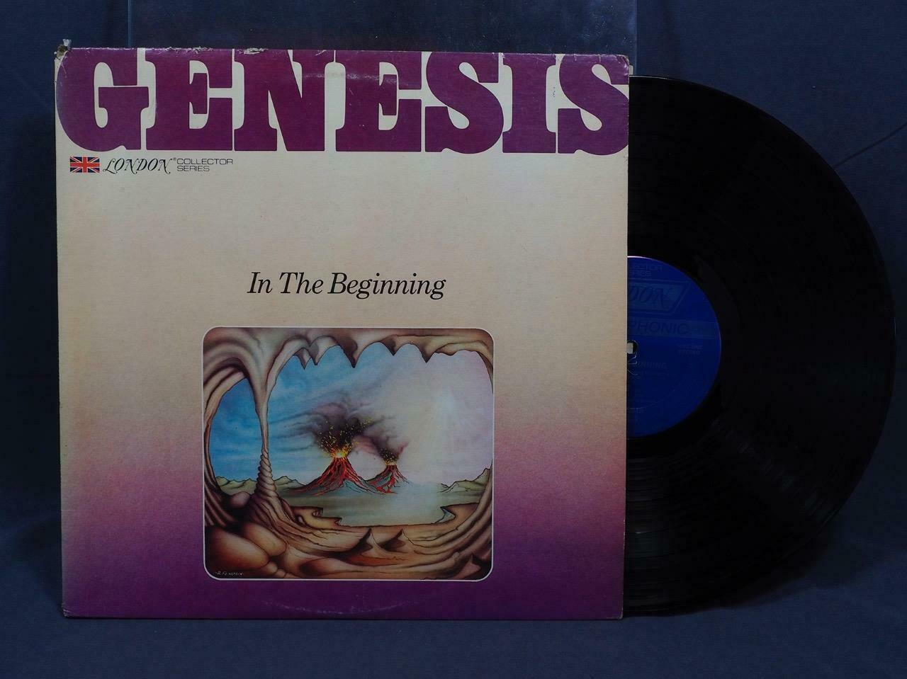 Clásico Genesis IN The Beginning Vinilo LP Record Álbum