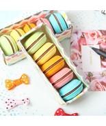 XUES® 5PCS/Lot Novelty Macaron Rubber Eraser Creative Kawaii Stationery - $1.31