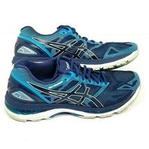 ASICS Gel Nimbus 19 Running Shoes Womens Size 10 Aqua Blue EUR 42 T750N - $35.53