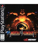 Mortal Kombat 4 PS1 Great Condition Fast Shipping - $17.94