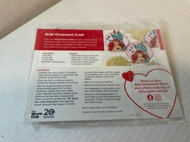 Disney Ariel Ornament Craft Disney Movie Club-NEW (Sealed)  Shipping w/Tracking - $6.91
