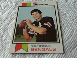 1973  TOPPS  # 34   KEN  ANDERSON    ROOKIE    NEAR  MINT /  MINT  OR  B... - $199.99