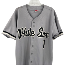VTG Rawlings Chicago White Sox #1 Gray Stitched Baseball Jersey Sz 2XL MLB  - $123.74