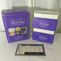 1991 Trivial Pursuit TV Edition Card Set For Use With Master Game #6052 - $27.67