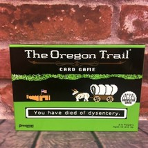The Oregon Trail Card Game NEW Pressman Wagon Party 2-6 Players 12+ Classic - $19.99