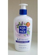 Kiss My Face 4 in 1 Moisture Shave Lavender Shea 11oz Discontinued New - $22.77