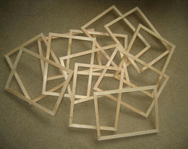 Unfinished 8x10 picture frames, lot of 12 - $65.34