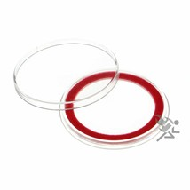 (15) Air-tite 38mm Red Velour Colored Ring Coin Holder Capsules for Amer... - $15.95