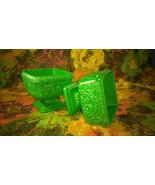 Wonderful Vintage Plastic Flower Pots - Pedestal Vases - $22.00