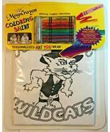 ARIZONA WILDCATS Coloring Shirt w/ Fabric Crayons Art Craft Kit MagiCray... - $9.99