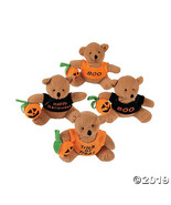 Stuffed Bears with A Halloween T-Shir - $24.99