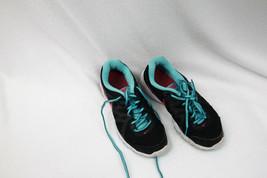 Nike Running Shoes Black Aqua Sz 7.5 M Womens Revolution 2 Fitness Exercise - $14.11
