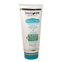 New Aloevera Cream w/ Natural Oils Beauty Life Dead Sea Minerals 6.0fl.o... - $13.86