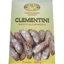 Clementini Almond Mini Biscotti- 7.4 oz Box - $5.00