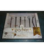 Exclusive Harry Potter Die Cast Wand Collector Set Lights & Sounds - BRA... - $52.37
