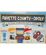 NEW SEALED Pennsylvania Fayette County Opoly Board Game - $29.69